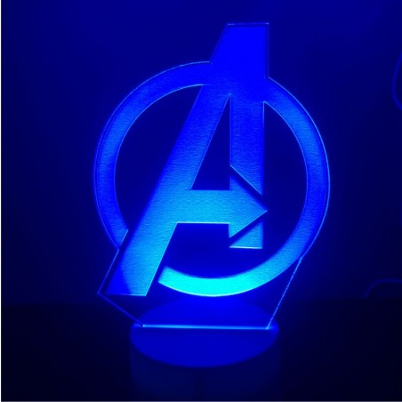 Lámpara 3D led THE AVENGERS